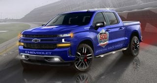 Dale Jr. to drive first-ever Daytona 500 Chevy pace truck