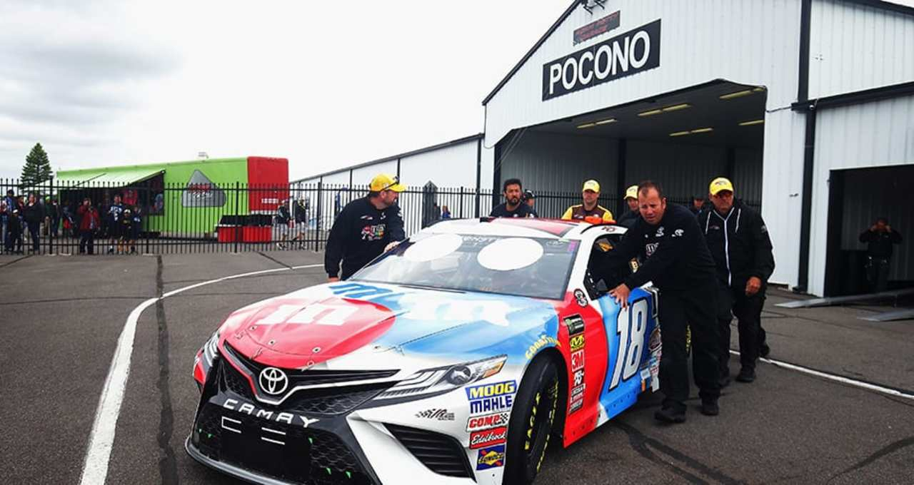 81dcf04dd Cup qualifying moves to Saturday on first Pocono weekend - NASCAR EN ...