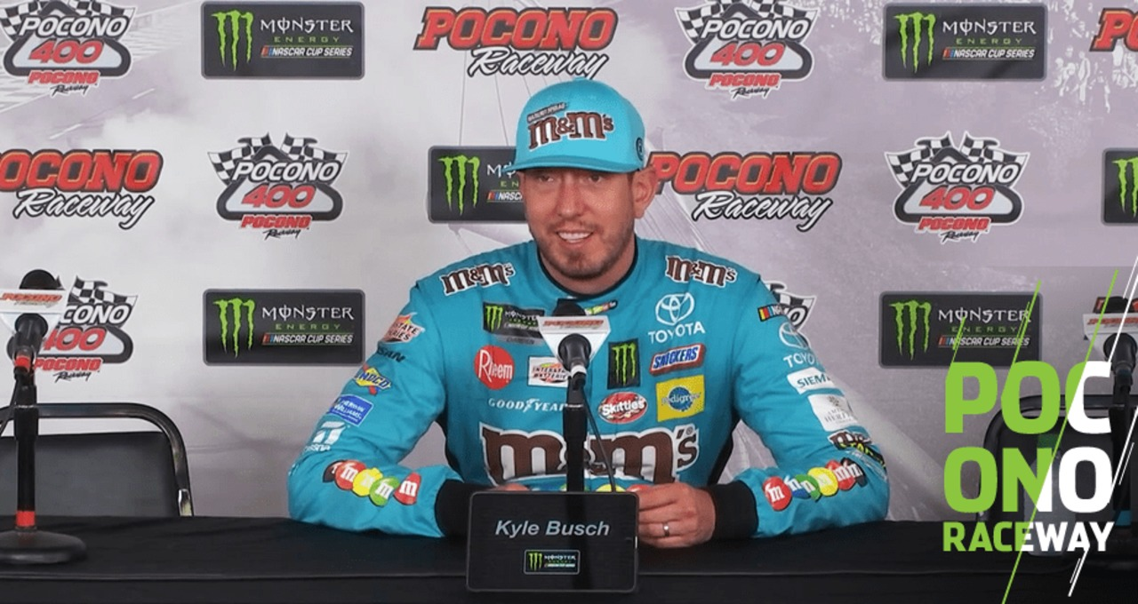 Busch On 55 Wins Its Cool To Eclipse Icons Nascar En Espanol