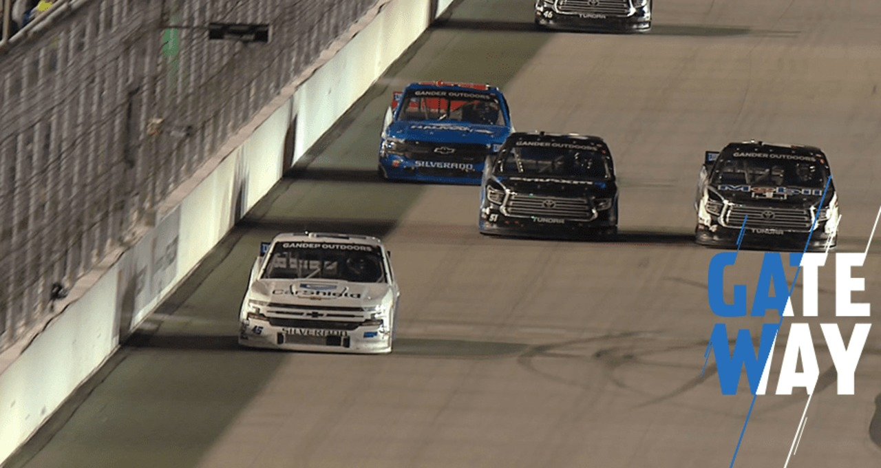Chastain speeds to victory with last-lap excitement behind