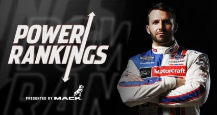 Top 20 Power Rankings Cup Series 2021 de Richmond a Talladega